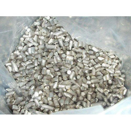Lithium Hoge zuiverheid 99,9% metaalelement Li 3-korrels, metalen zeldzaam
