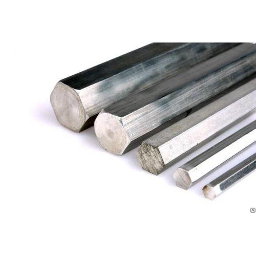 Aluminium zeshoek SW Ø...