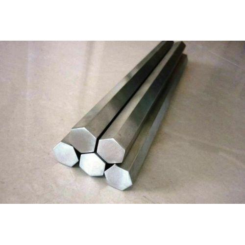 RVS zeskant SW 18mm-60mm 1.4305 staaf zeskant VA V2A 303 zeskant staaf, roestvrij staal
