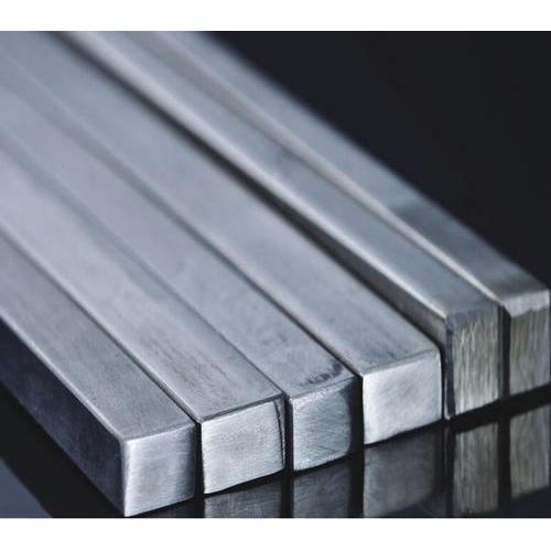 Roestvrijstalen vierkante staaf massieve vierkante staaf profielstang V2A, roestvrij staal