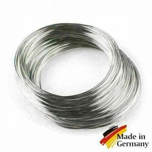 Verende staaldraad 0.1-10mm verendraad 1.4310 RVS 301 RVS 1-200 meter,  roestvrij staal