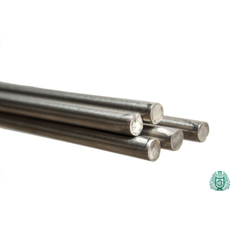 Verenstalen stang Ø0.4-3.5mm RVS 1.4310 Aisi 301 ronde stangprofiel,  roestvrij staal