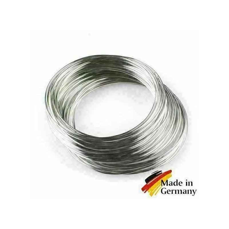 Verenstaaldraad 0,1-10 mm veerdraad 1.4310 roestvrij staal 301 roestvrij 1-200 meter, roestvrij staal