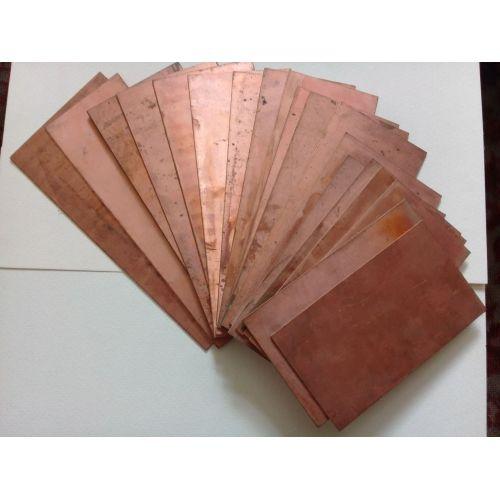 Koper 99,9% pure anode plaatwerk plaat 10x200x50-10x200x1000mm ruwe galvanische elektrode, koper