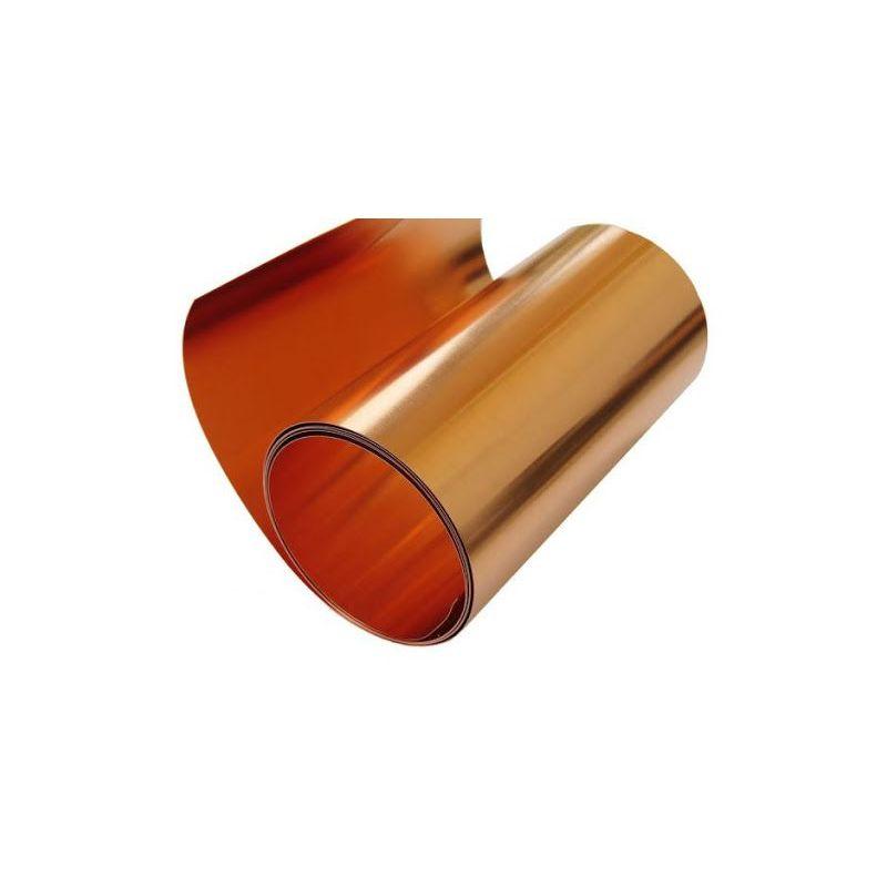 Kopertape 0,1x600mm koperen plakband 0,1 meter op 100 meter, koper