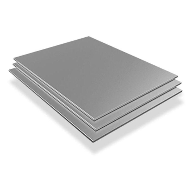 Roestvrijstalen plaat 2,5 mm-3 mm V2A 1.4301 platen platen op maat gesneden 100 mm tot 1000 mm, roestvrij staal
