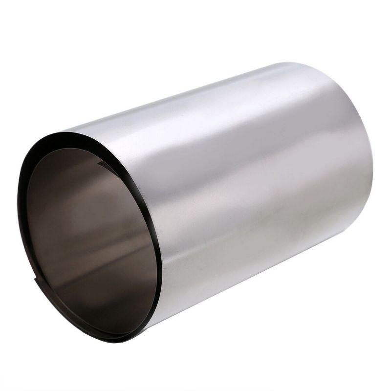 Titanium band dikte 0,1-0,5 mm titanium 3,7025 breedte 100 mm band 0,1 meter tot 50 meter, titanium
