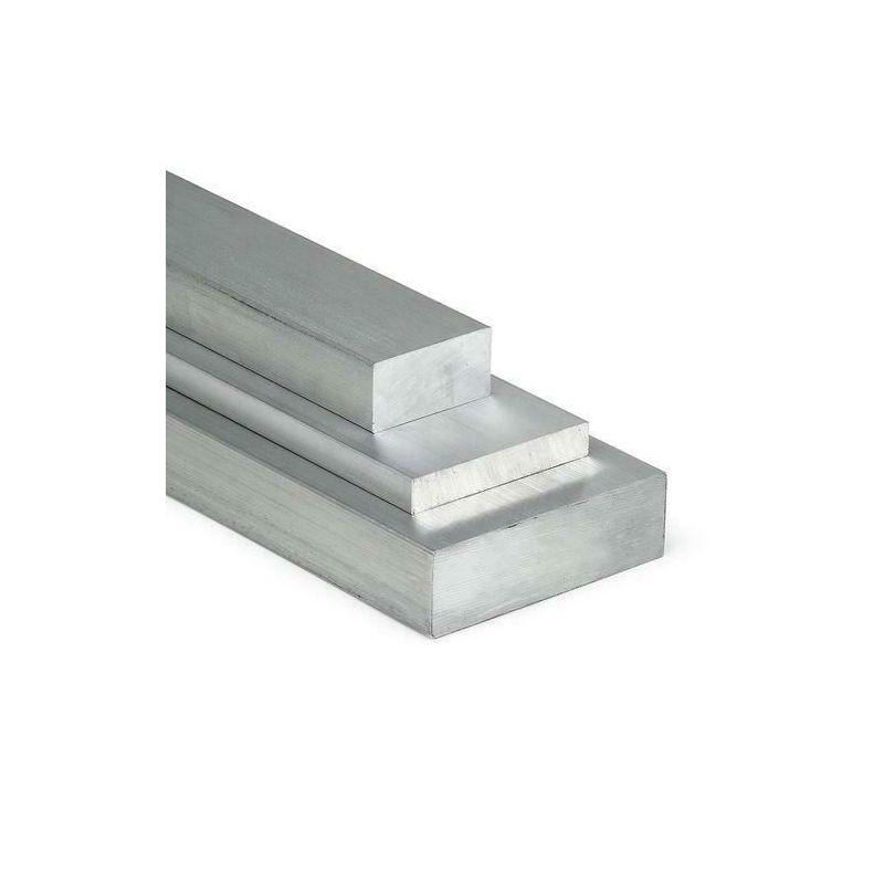 Aluminium platte staaf 20x2mm-100x40mm AlMgSi0.5 plat materiaal aluminium profiel plat ei