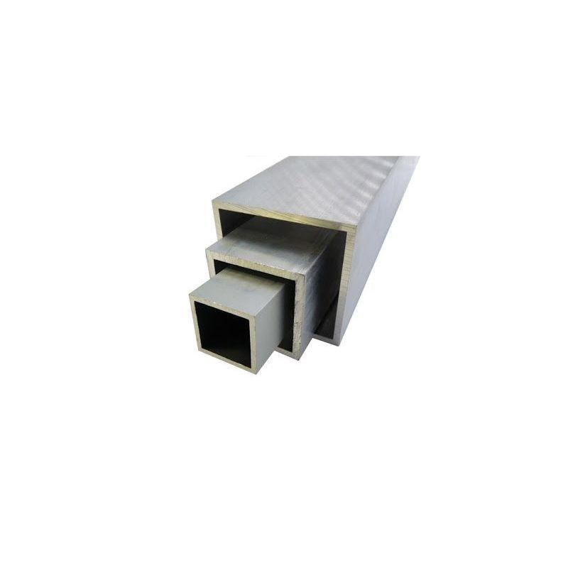 Aluminium vierkante buis 20x20x2-100x100x4mm AlMgSi0.5 vierkante buis 0.2-2 meter