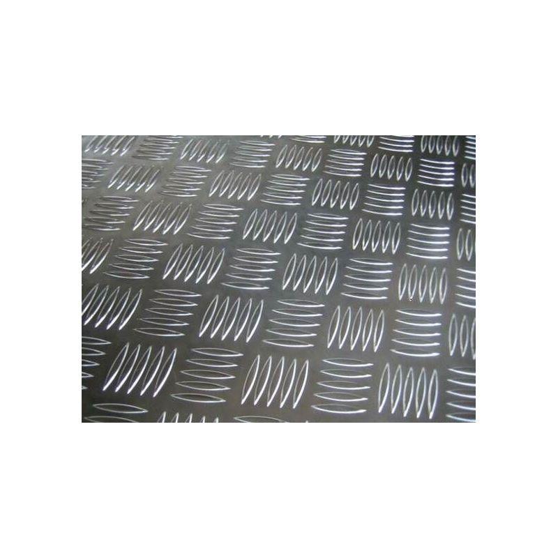 Aluminium traanplaat 2,5 / 4 mm platen Al platen Aluminium plaat dunne plaat selecteerbaar