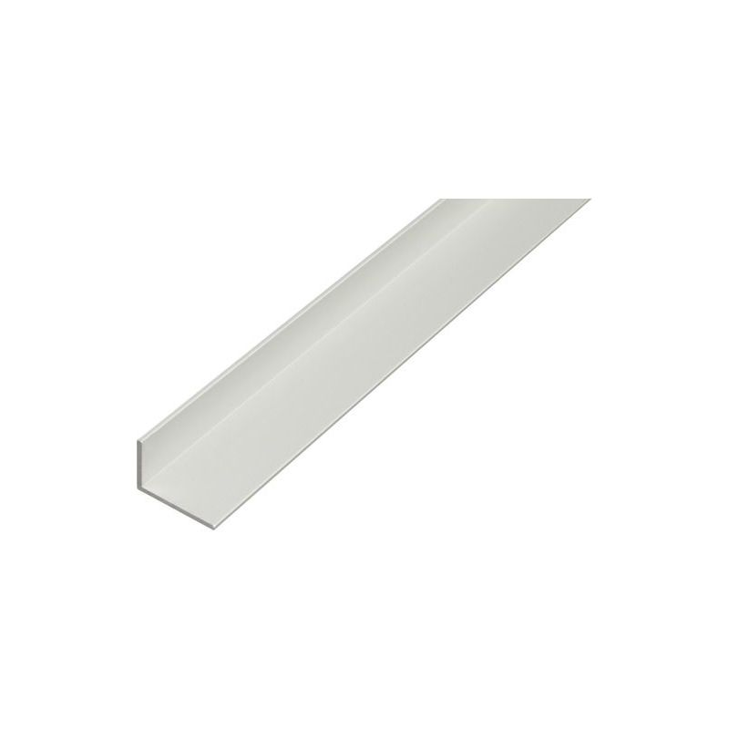 Aluminium L-profiel hoek gelijkbenig 25x25x4mm-50x50x5mm Alu 0.25-2 Met