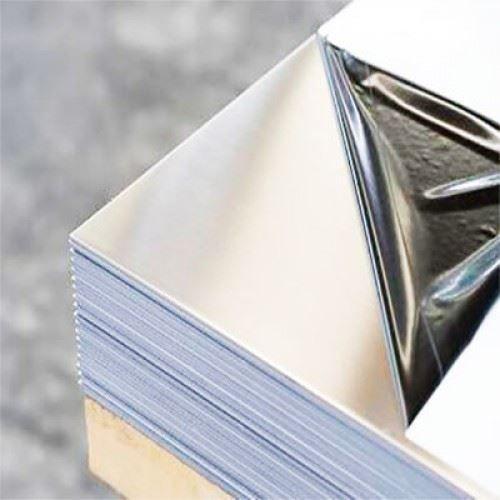 Aluminium plaat 2 mm platen Al platen dunne plaat selecteerbaar 100 mm tot 1000 mm