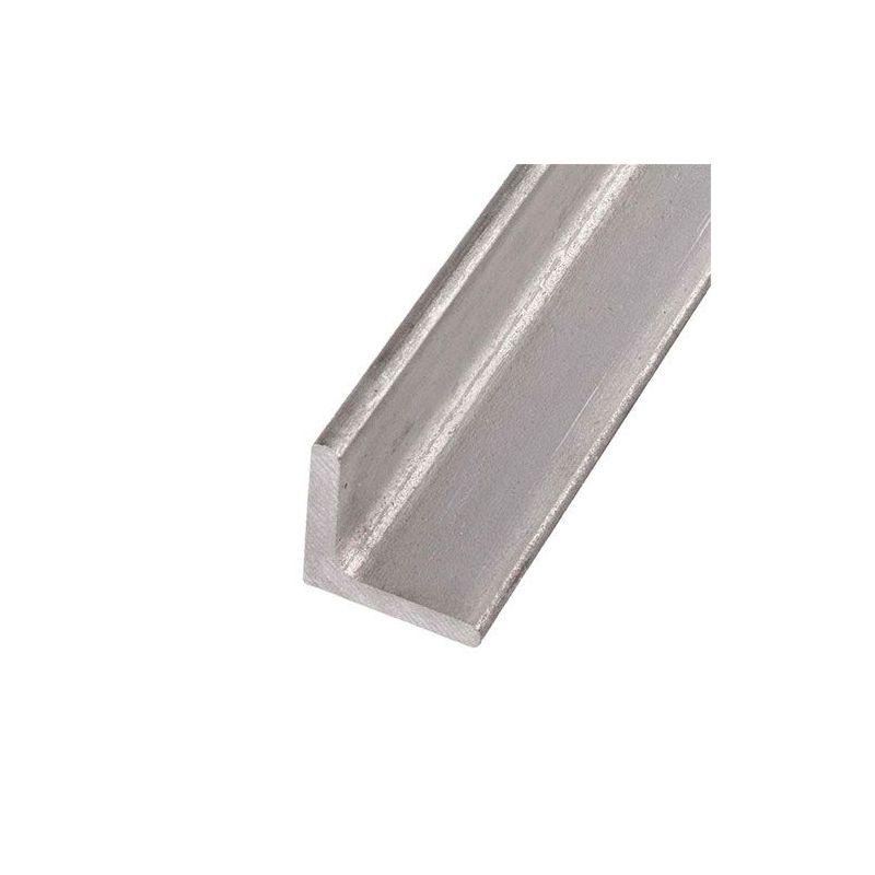 RVS L-profiel hoek gelijkbenig 40x40x4mm-60x60x6mm 0.25-2 Met