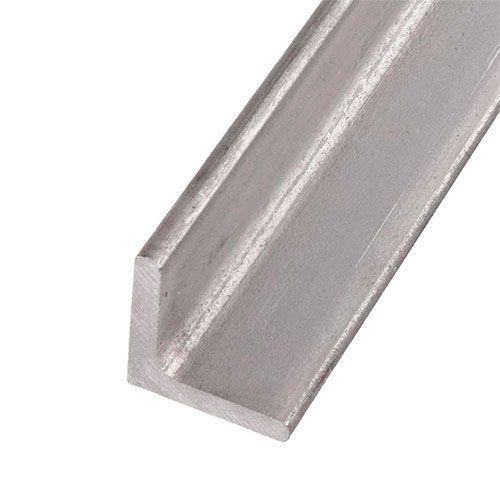 RVS L-profiel hoek gelijkbenig 40x40x4mm 0.25-2 Met