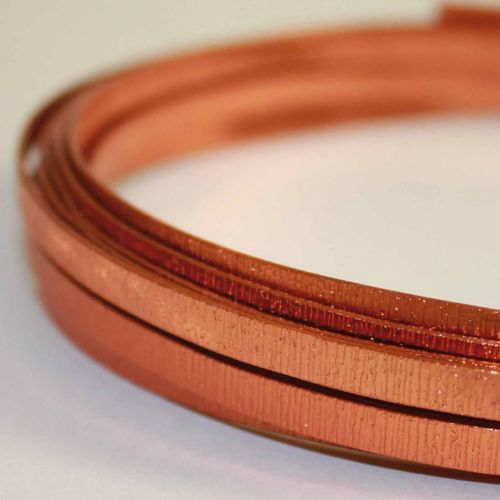 Platte draad email Ø 5-18mm koperdraad W200 platte staaf Cu 99,9% geëmailleerde draad ambachtelijke draad
