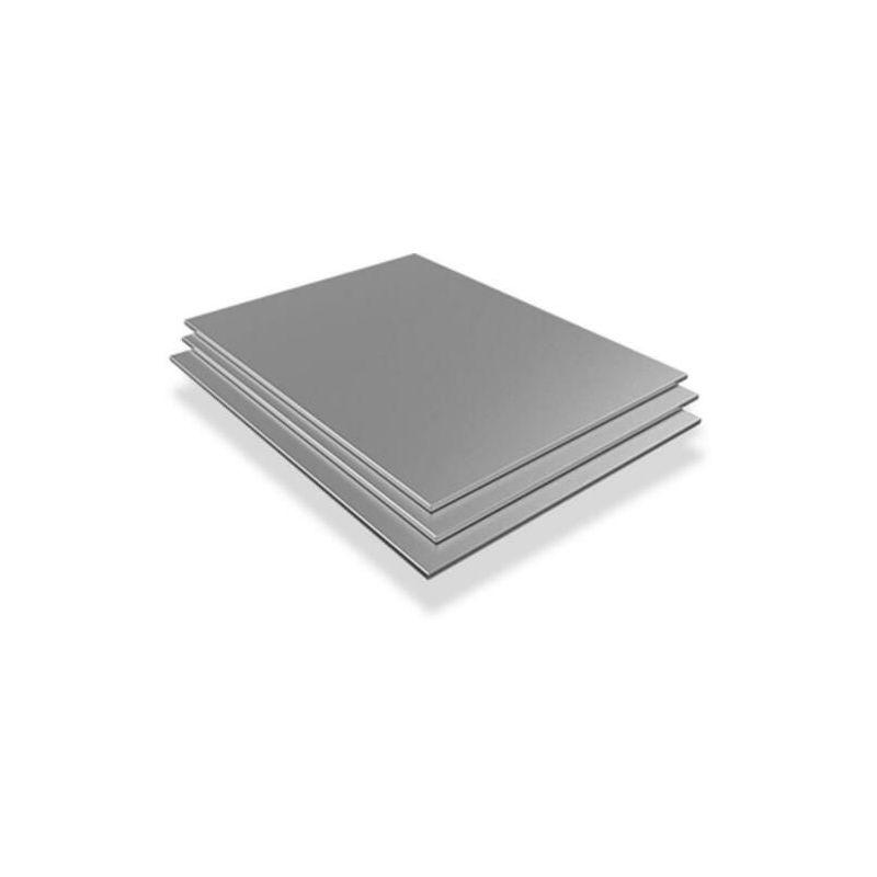 Roestvrijstalen plaat 0,5 mm V2A 1.4301 platen platen gesneden van 100 mm tot 2000 mm plaat