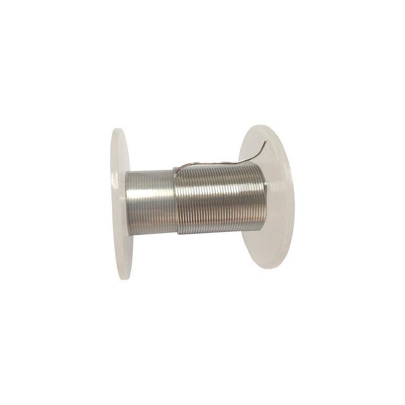 Indiumdraad 99,9% van Ø 0,5 mm tot Ø 5 mm puur metalen element 49 Draad