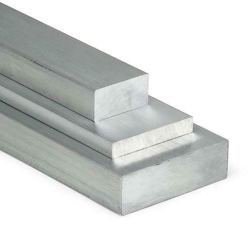 Aluminium platte staaf 30x2mm-60x8mm AlMgSi0.5 plat materiaal aluminium profiel plat ei