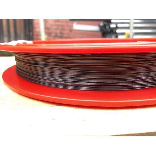 Wolfraamdraad 99,9% van Ø 0,02 mm tot Ø 5 mm zuiver metalen element 74 Wolfraamdraad
