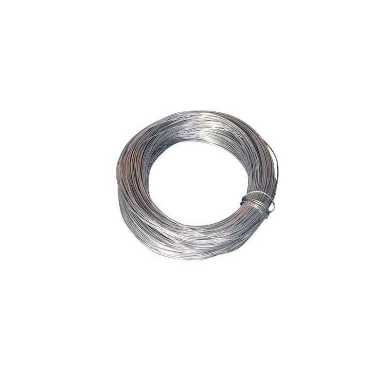 Zinkdraad 2 mm 99,9% voor elektrolyse galvaniseren ambachtelijke draad anode sieradendraad