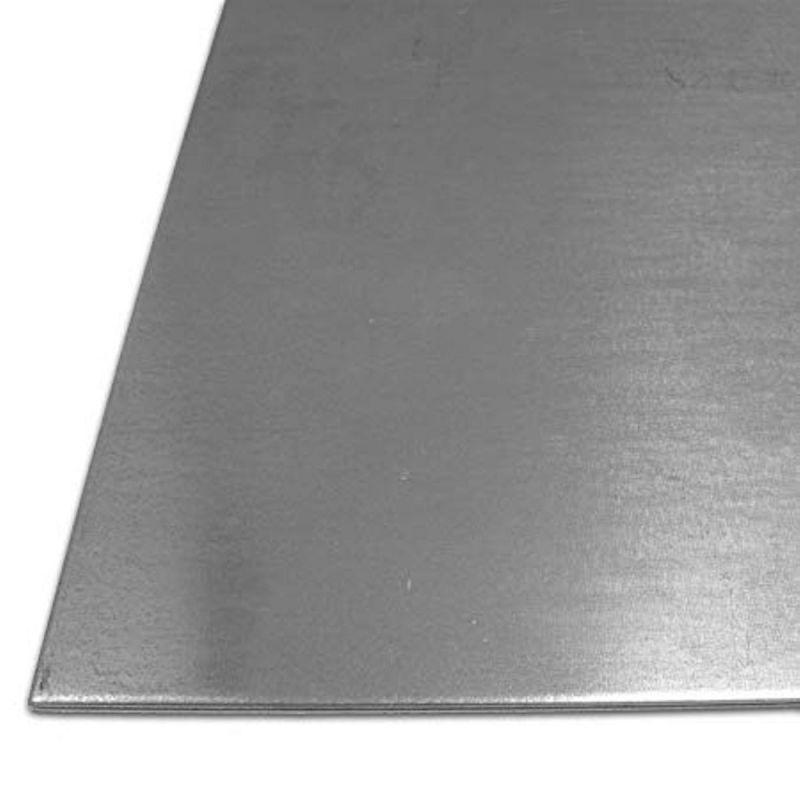 Plaatstaal 1-4 mm gegalvaniseerde S235 platen Platen Staalplaat 100 mm tot 1000 mm