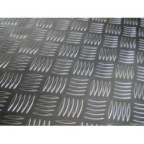 Aluminium traanplaat 2,5 / 4 mm kwintetplaten, Al-platen, aluminiumplaat, dunne plaat