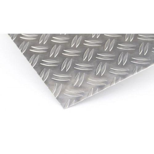 Aluminium traanplaat 1.5 / 2mm - 5 / 6.5mm Duett platen Al platen Aluminium plaat dunne plaat