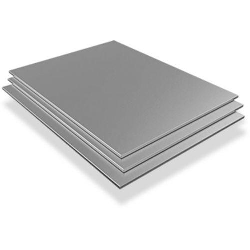 Roestvrijstalen plaat 10 mm V4A 1.4571 Platen Vellen gesneden 100 mm tot 2000 mm