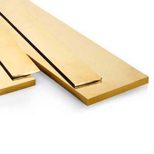Messing platte staaf 30x2mm-90x12mm stroken plaatstaal gesneden tot 2 meter