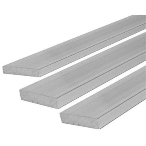 RVS platte staaf 30x2mm-90x12mm stroken plaatstaal op lengte gesneden 1 meter
