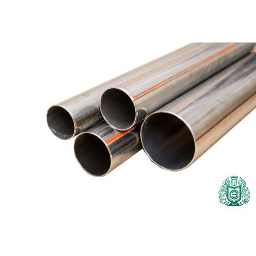 Roestvrij stalen buis 14x0.5-89x2mm 1.4541 Aisi 321 ronde buis metalen constructie reling 0.25-2 meter water