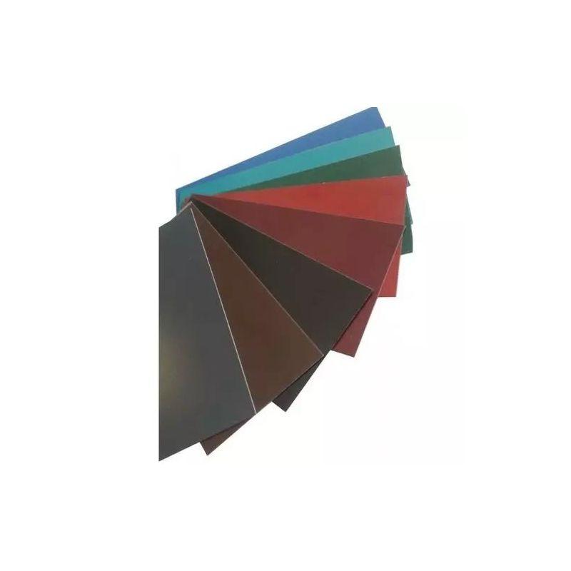Stalen platte balk 0,5 mm kleurstroken plaatwerk op maat gesneden 0,5-1 meter