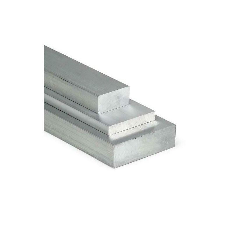 Aluminium platte staaf 30x2mm-5x12mm 0,5-2 meter stroken plaatstaal op maat gesneden