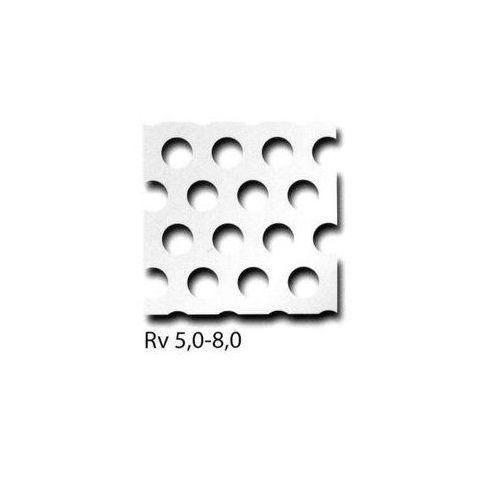 Geperforeerde aluminium plaat RV3-5 + RV5-8 + RV10-15 panelen kunnen op maat worden gezaagd, gewenste maat mogelijk 100 mm x