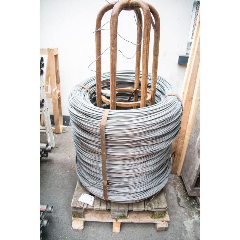 Spandraad 0.6-8mm binddraad gegalvaniseerd ijzer bloemen tinker mesh 10-500 meter, staal