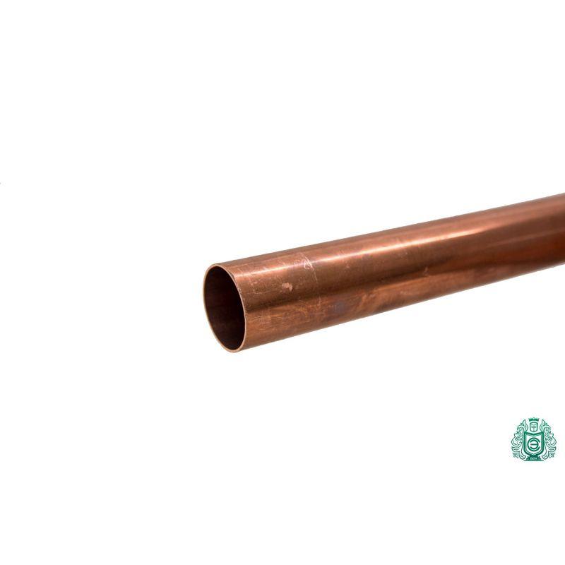 Koperen buis 3x0.5mm-54x1.5mm staaf 2.0090 Aisi C11000 verwarming drinkwater 0,1-2 meter, koper