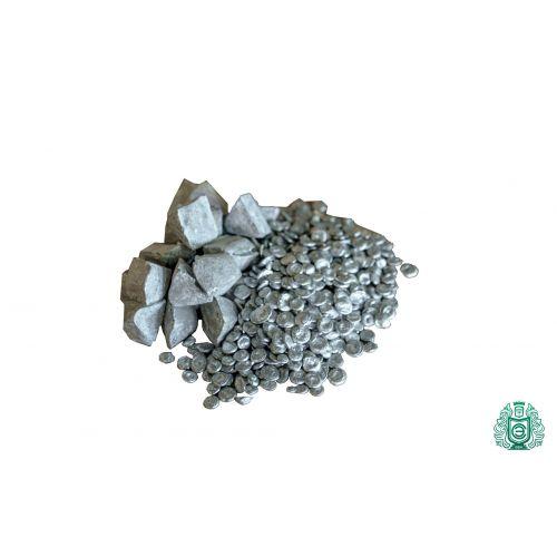 Zink Zn zuiverheid 99,99% ruw zink puur metalen element 30 piramides 10gr-5kg,  Zeldzame metalen