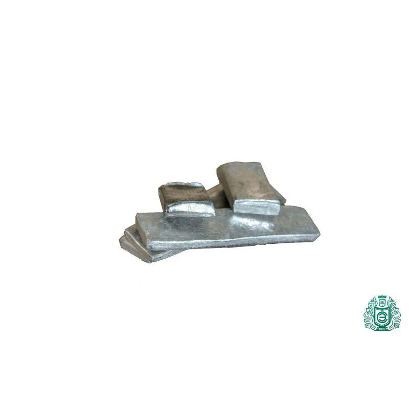 Indium 99,99% baar van 1 gram tot 5 kg staafelement 49 puur metaal In (49),  Zeldzame metalen