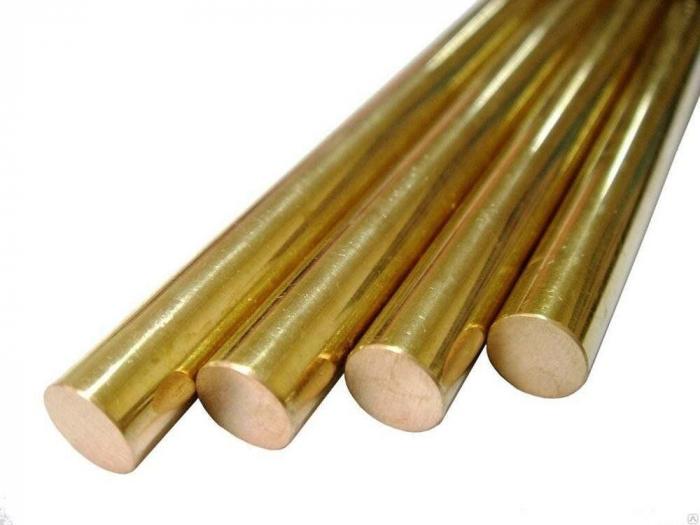 Bronzen ronde staaf. Functies en toepassing